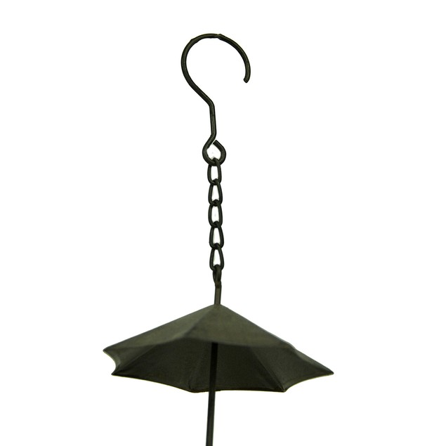 Copper Finish Metal Umbrellas Rain Chain Rain Chains