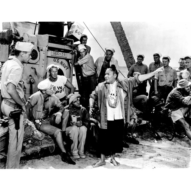 A scene from South Pacific Poster