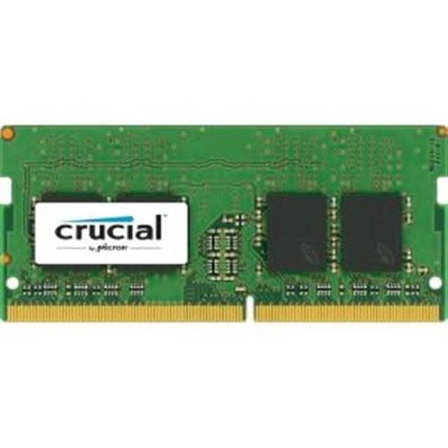 Crucial CT8G4SFD824A 8GB Single DDR4 2400 MT/s Unbuffered SODIMM 260-Pin Me
