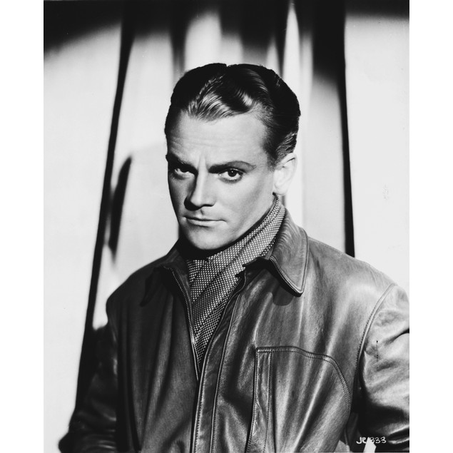 James Cagney wearing a leather jacket Poster