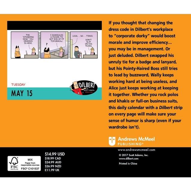 Dilbert Desk Calendar, Cartoons   Comics by Calendars