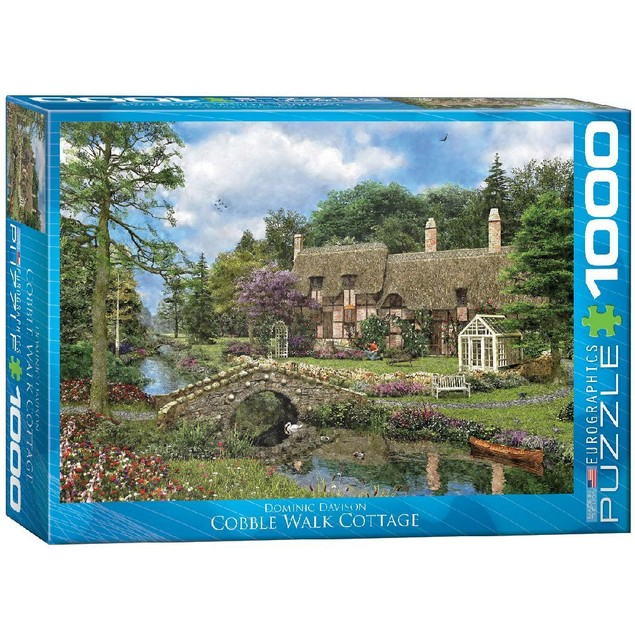 Cobble Walk Cottage 1000 Piece Puzzle, 1,000 Piece Puzzles by Eurographics
