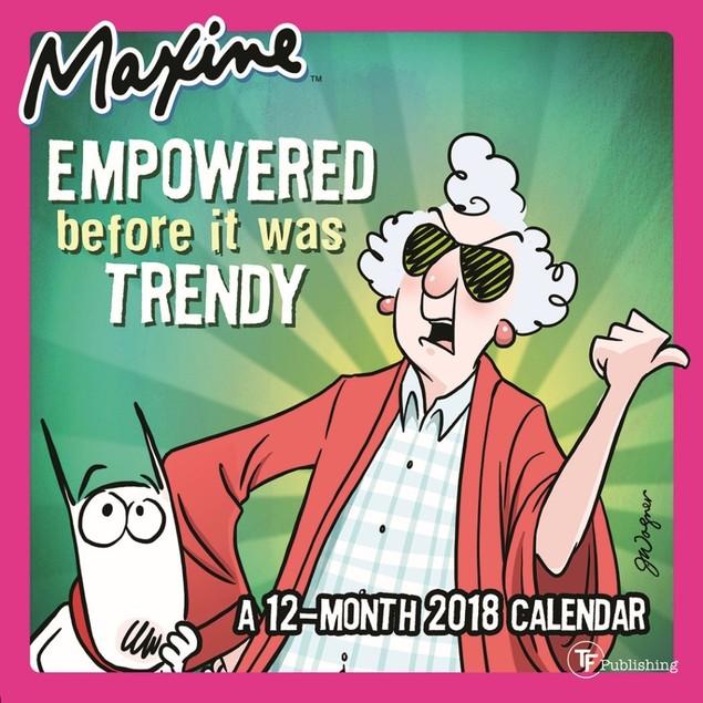 Maxine Mini Wall Calendar, Women's Humor by TF Publishing
