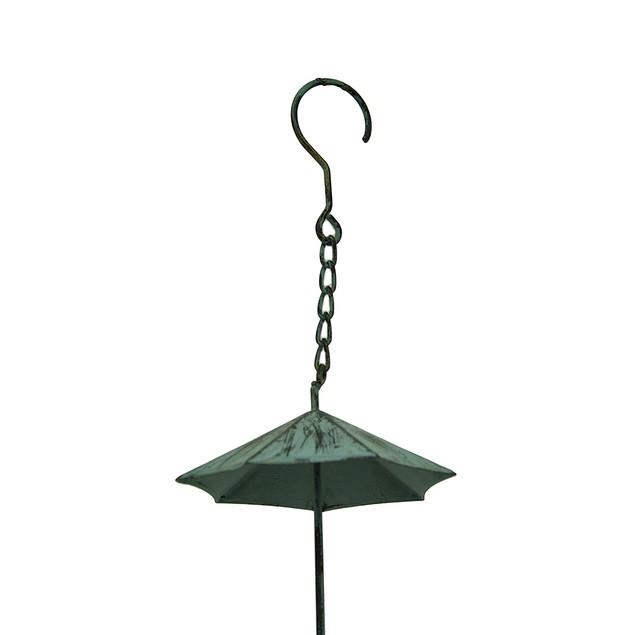 Verdigris Finish Metal Umbrellas Rain Chain Rain Chains