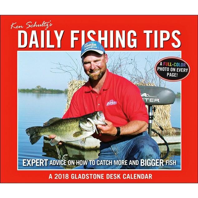 Ken Schultz's Fishing Tips Desk Calendar