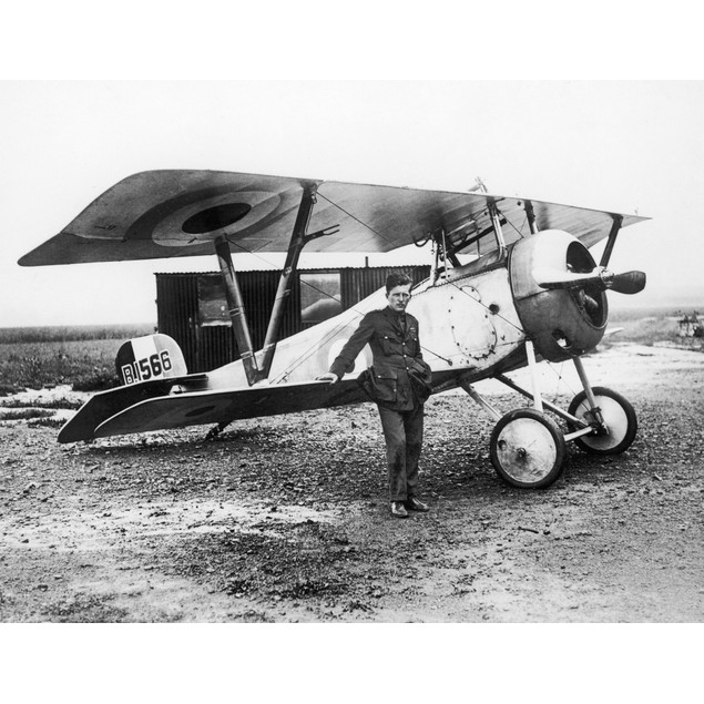 William Avery 'Billy' Bishop /N(1894-1956). Canadian World War I Pilot And