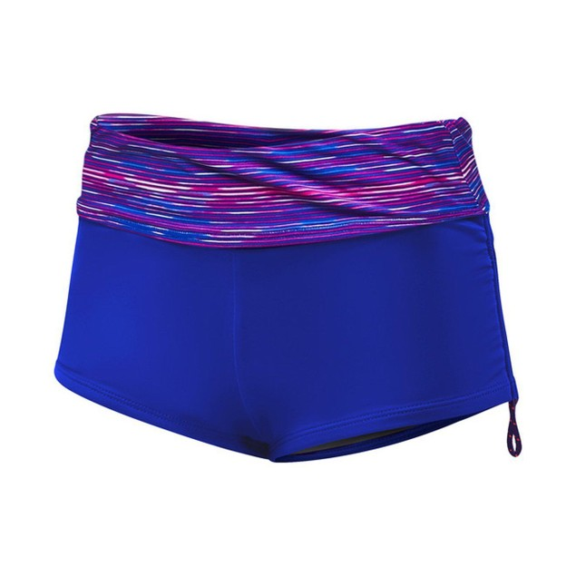 TYR Womens Cyprus Della Boyshort, 184 Pink Purple, SIZE MEDIUM (8)