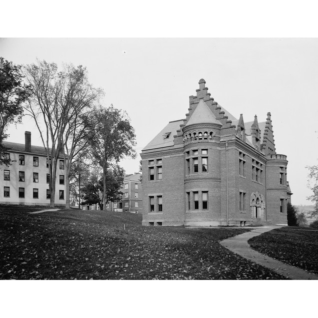 Dartmouth College, C1900. /Nbartlett Hall At Dartmouth College In Hanover,