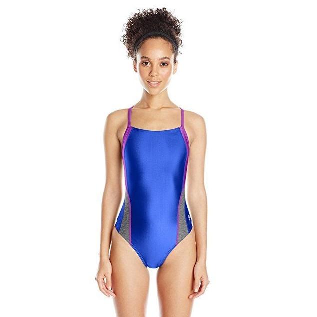 Speedo Women's Pro LT Relaunch Fly Back One Piece Swimsuit, Deep SZ: 2