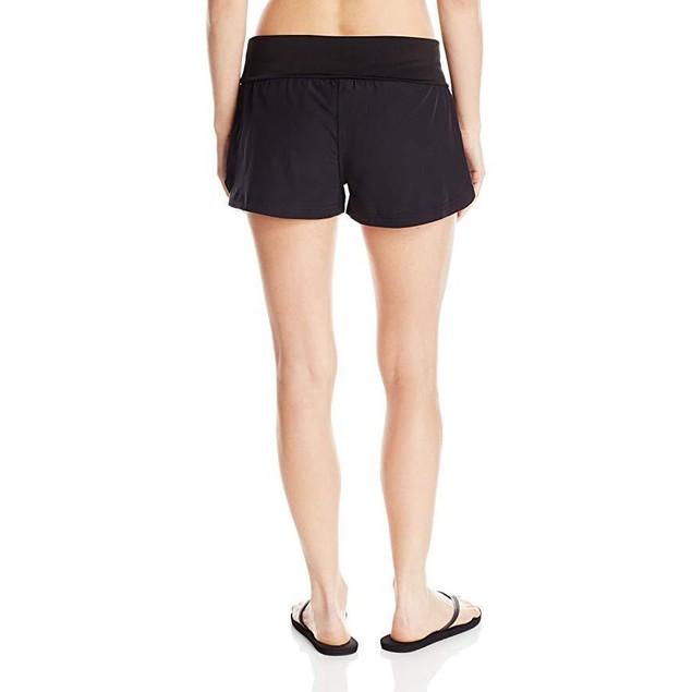 Body Glove Women's Seaside Vapor 2 Inch Boardshort, Black, Small