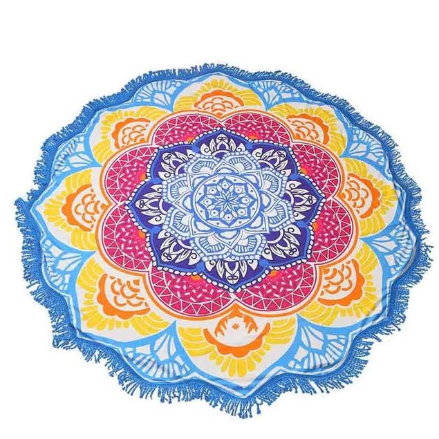 Mandala Pattern Towel