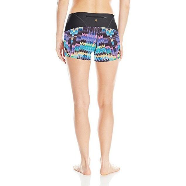 prAna Women's Rai Swim Shorts, SZ: Small, Aquamarine Rio