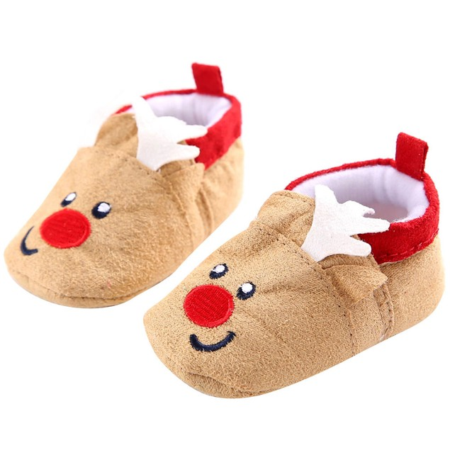 Baby Toddler Infant Snow Boots Soft Sole Prewalker Crib Shoes