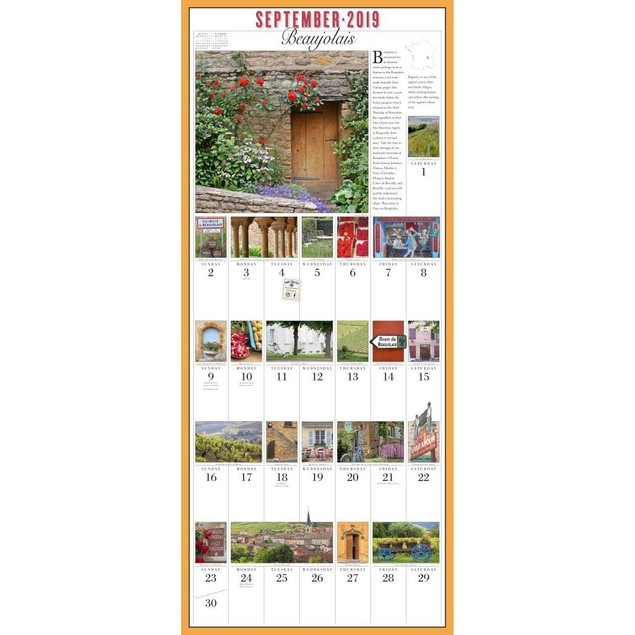 365 Days of France Wall Calendar, Italy by Calendars