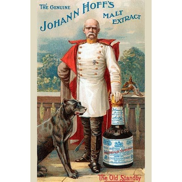 Victorian trade card for a malt liquor to be used as a medicine with a dog