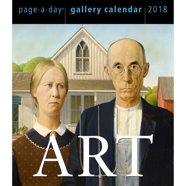 Art Gallery Desk Calendar, Fine Art by Calendars