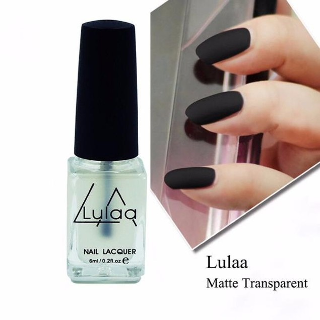 Nail Art Super Matte Transfiguration Frosted Surface Oil Top Coat