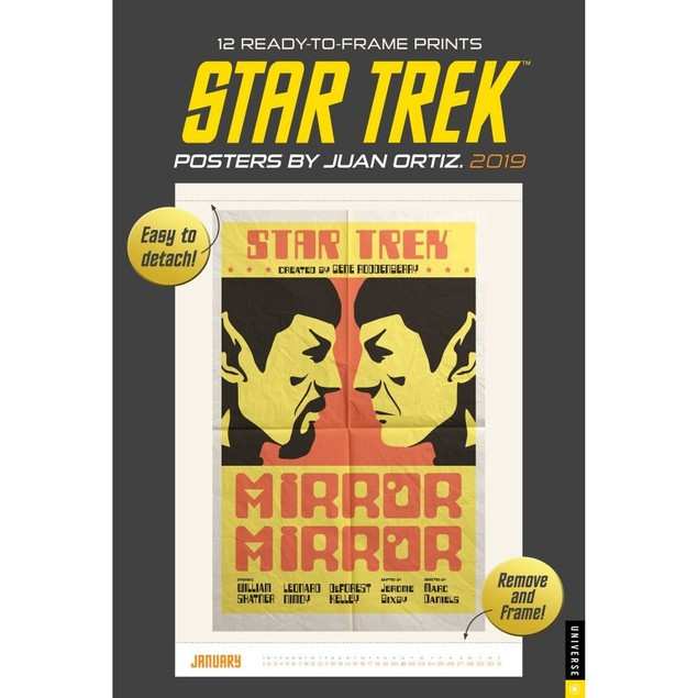 Star Trek Poster Calendar, Sci-Fi TV by Calendars
