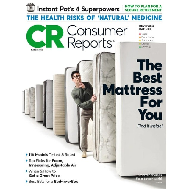 Consumer Reports Magazine Subscription