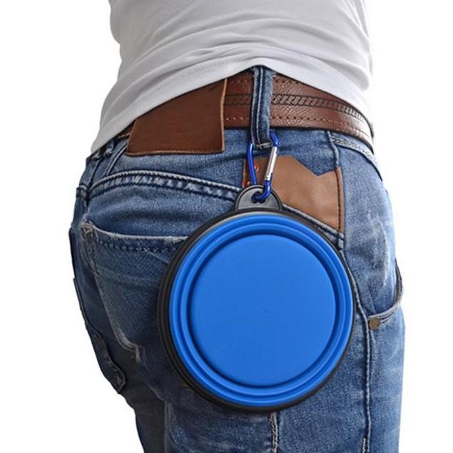 Portable Collapsible Pet Travel Bowl