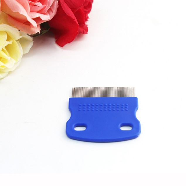 Cat Dog Puppy Grooming Steel Small Fine Toothed Pet Flea Comb