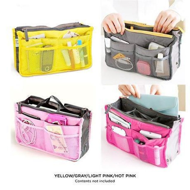 Multifunction Travel Cosmetic Makeup Bag Storage Organizer-7 Colors