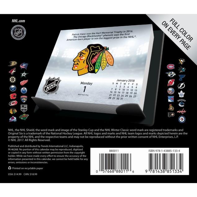 Nhl Desk Calendar, Hockey by Calendars