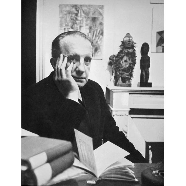 Paul Eluard (1895-1952). /Nfrench Poet. Poster