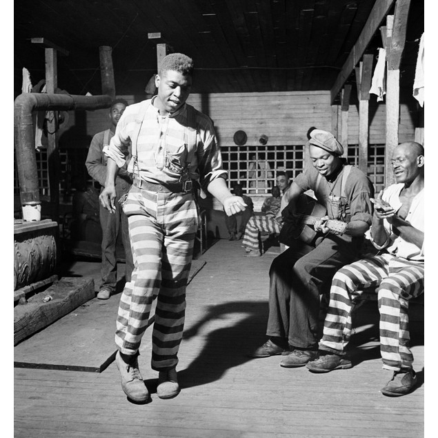 Georgia: Convicts, 1941. /Nprisoners Playing Music, Singing And Dancing In
