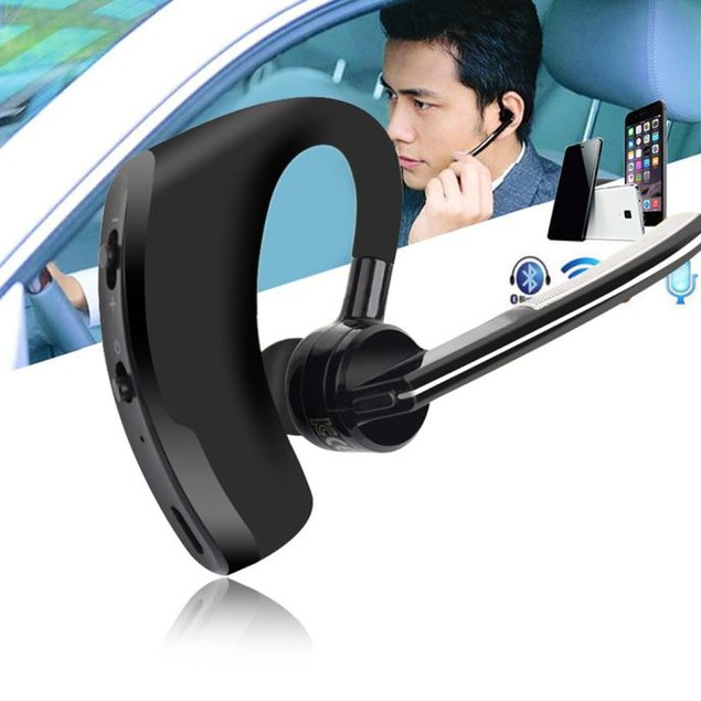 Bluetooth Wireless 4.1 Handsfree HiFi Headset Earphone for iPhone