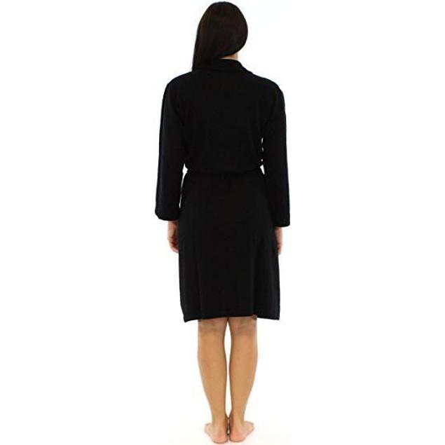 Bedhead Women's Black 100% Cashmere Robe SIZE M/L