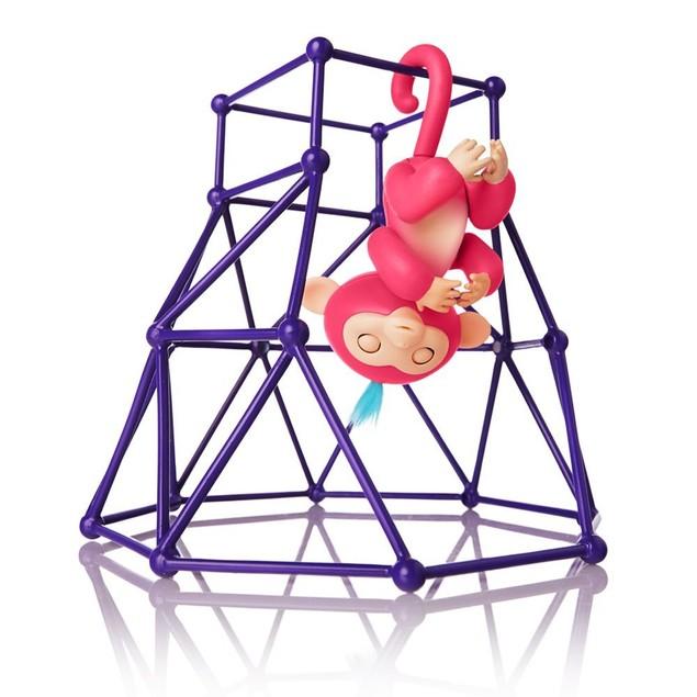 Jungle Gym Playset Interactive Baby Monkey Climbing Stand