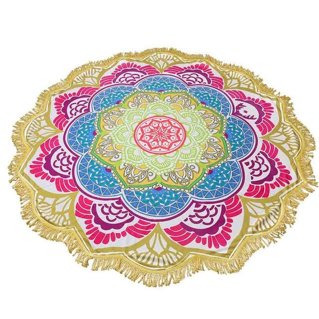 Mandala Pattern Towel