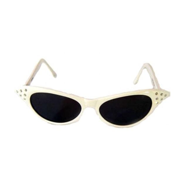 White Cat Eye Sunglasses