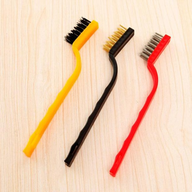 Small Brush Set Cleaning Brushes For Car Kitchen Gas Stove