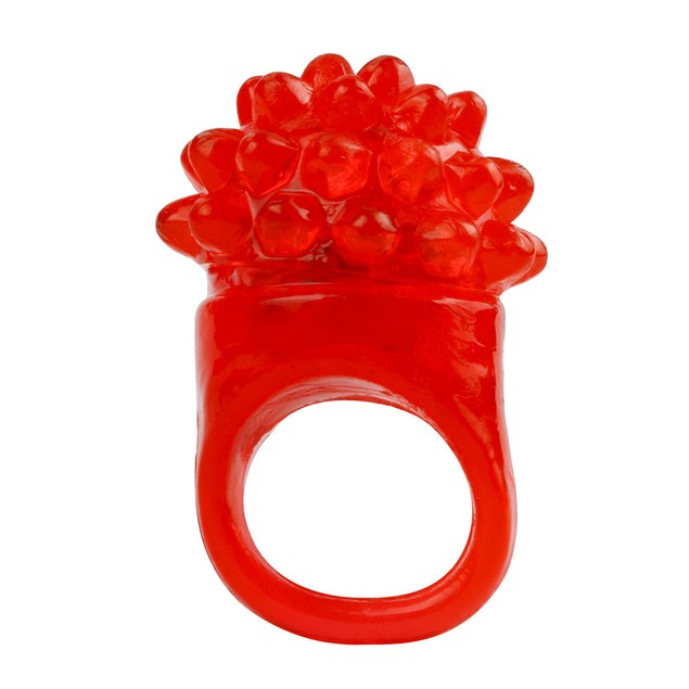 18 PC Led Rubber Rings For Party Favors Jelly Bubble Light Up Finger Toy