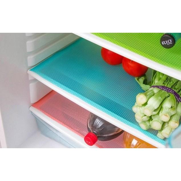 4-Pack Refrigerator Mats