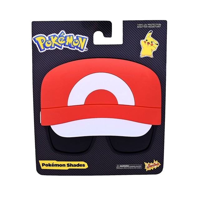 Ash Kethum Sunstache Sunglasses Pokemon Glasses Costume Halloween