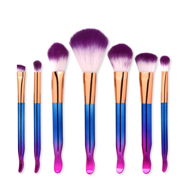 7PCS  Make Up Foundation  Blush Cosmetic Concealer Brushes 23