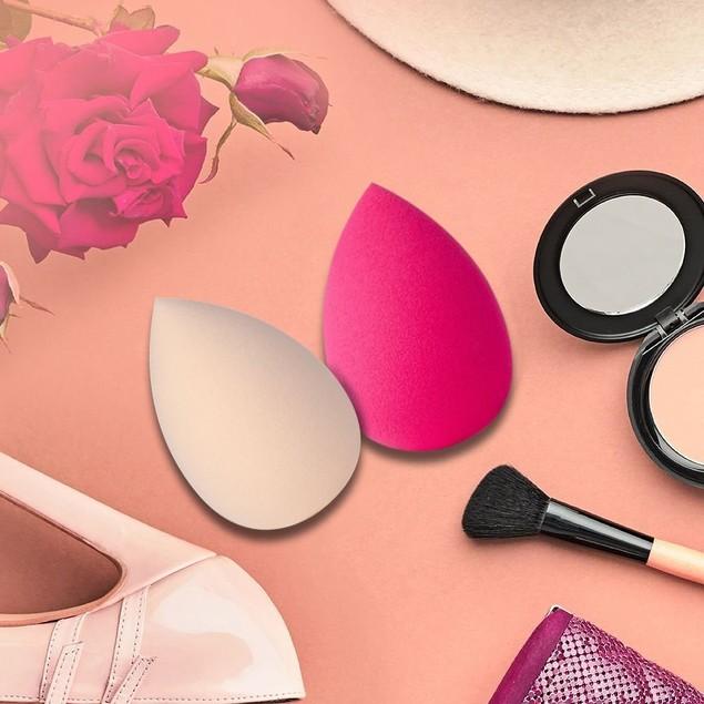6PCS Pro Beauty Water Droplets Sponge Makeup Foundation Puff