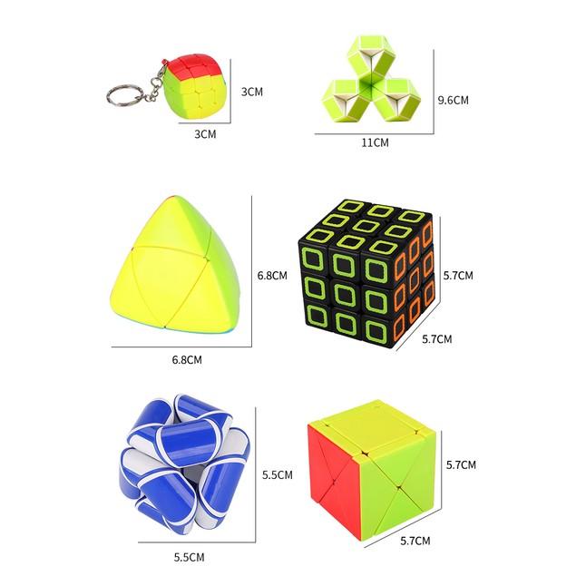 6-Pack Zummy Brain Teaser Puzzle Pack