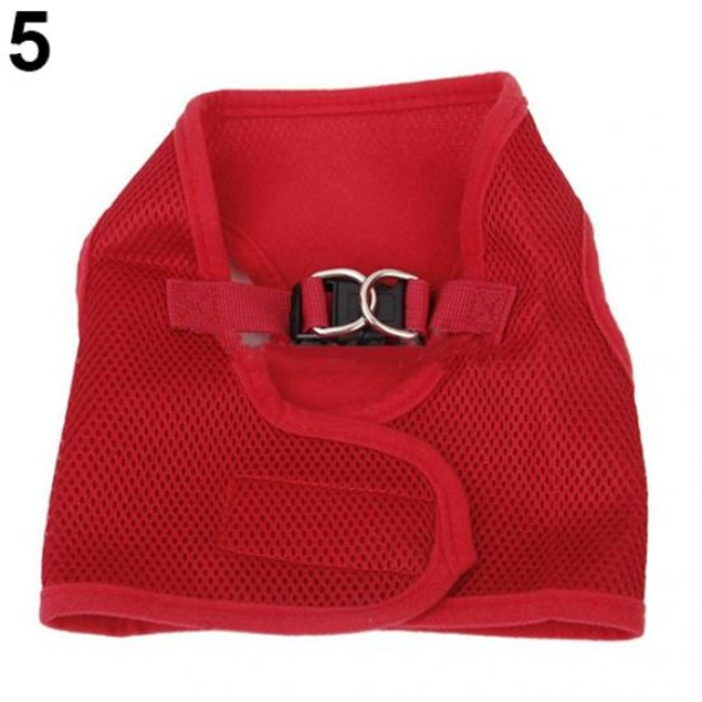 Puppy Soft Mesh Walking Strap Vest Harness