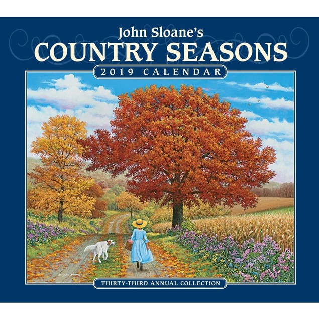 Country Seasons Wall Calendar, More Folk Art by Calendars