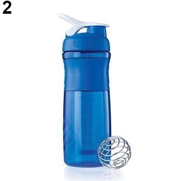 700ML Smart Shake Gym Protein Mixer Bottle Drink Whisk Ball