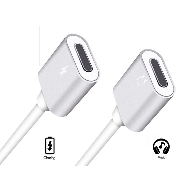 2-Pack Listen & Charge Adapter for iPhone
