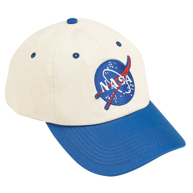Blue And Off White NASA Child Hat