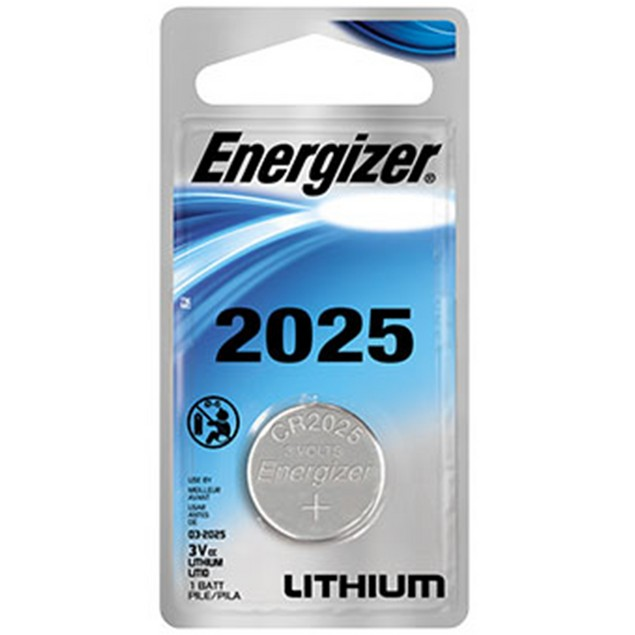 Energizer CR2025 Lithium Coin Cell Battery (1 Battery)