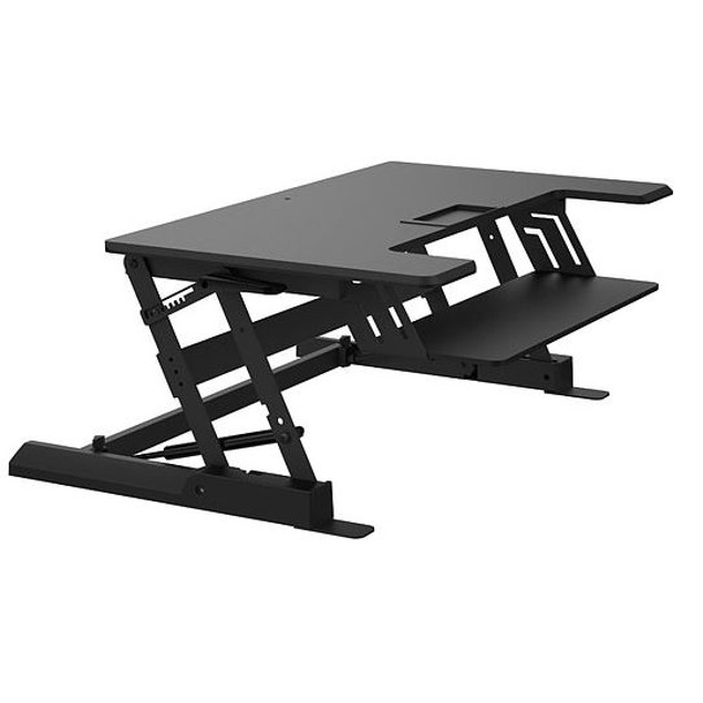 "Z Type Height Adjust Elevating Sit or Stand 6.5""-16.3"" in PC Workstation"