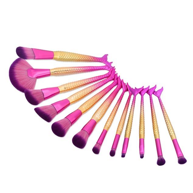 12PCS Make up Brushes Set Makeup Foundation Powder Blusher Face Brush 188