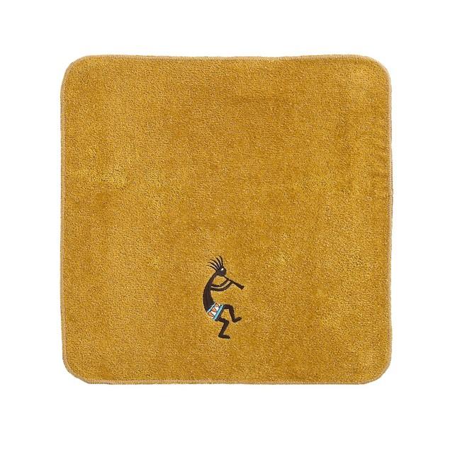 "Avanti Kokopelli Cotton, Inspired by the Southwest, Wash Towel, 13"" X 13"","